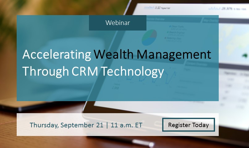 Accelerating Wealth Management Through CRM Technology